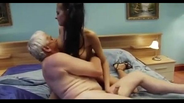 Granddad Pulverizing Now Not His Yam-sized Breasted Youthfull Gr…