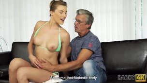 Daddy4k. Dude Is Astonished To Catch His Gf And Daddy Having Filthy Hump