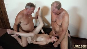 Gonzo Elderly And Youthfull Nail For Teenager Getting Dual Intrusion Orgy