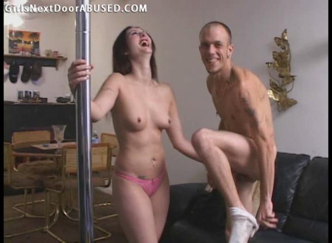 Stripper Becomes Tramp